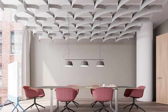 Akoestisch plafond ARO Filzfelt ENNAIR