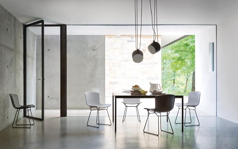 Knoll -Bertoia_Plastic_Side_Chair