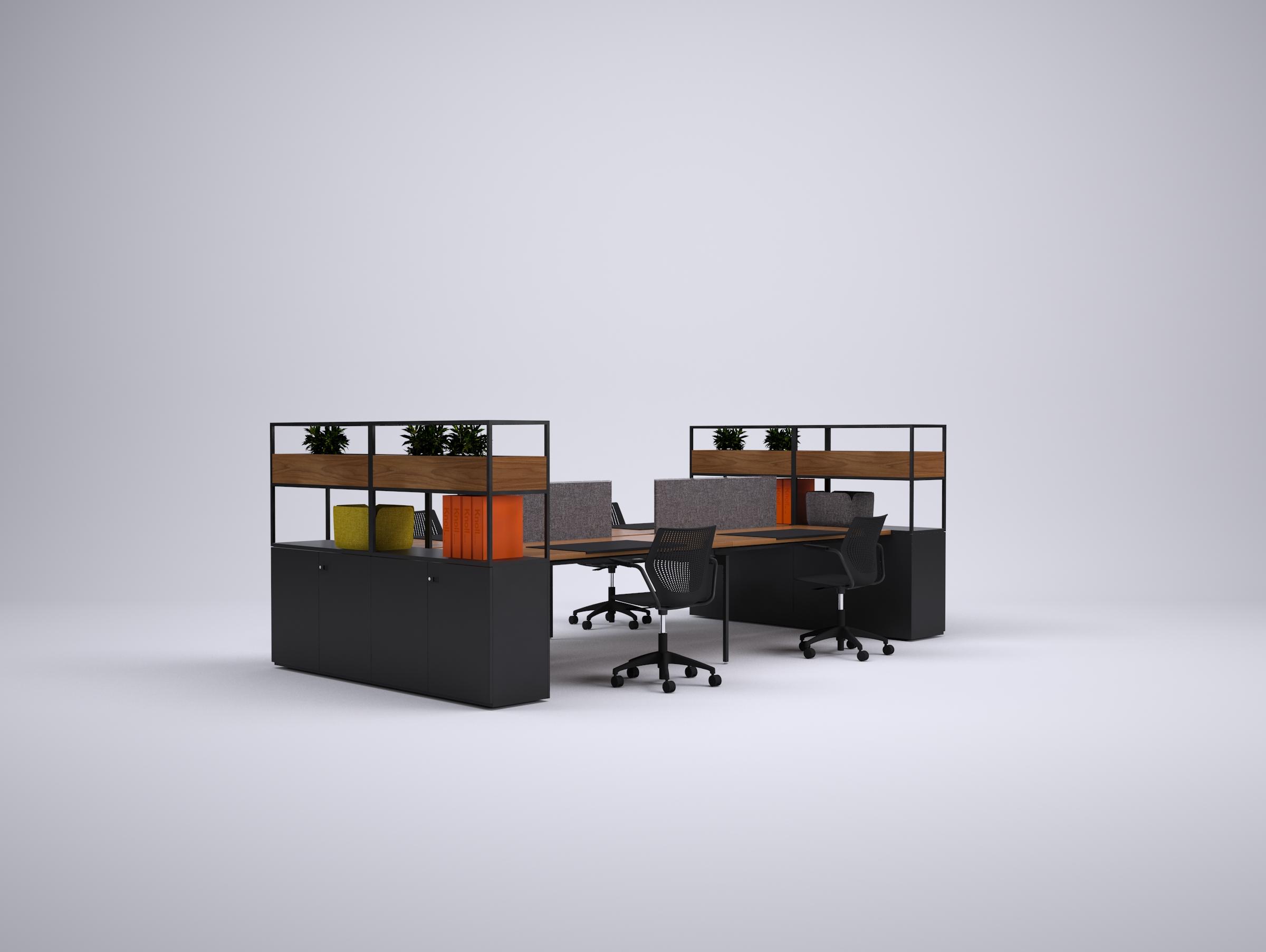 Knoll - Colourfold - WA - Antenna - room divider - werkplek - kantoormeubilair - Storage Divider