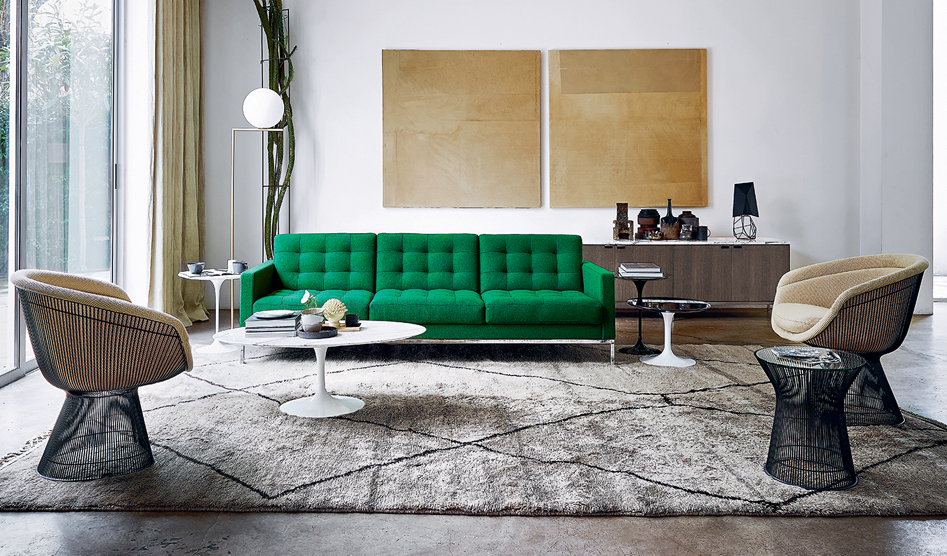 Knoll - Florence knoll - Platner - Saarinen - side chair - side table - credenza