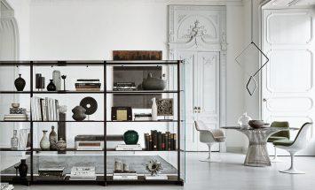 Knoll - Red Baron - room divider - Saarinen - Platner - Piero Lissoni