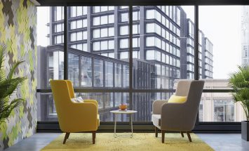 Knoll - Rockwell - overlegplek - lounge - lobby - meubilair