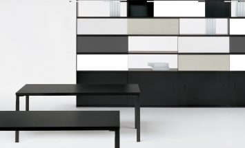 Knoll -Wa - werkplek - kantoormeubilair - roomdivider - metaal - schuifdeuren - modern design