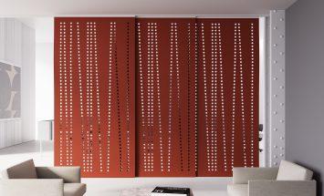 Hanging panels - wolvilt - patronen - Filzfelt - ENNAIR