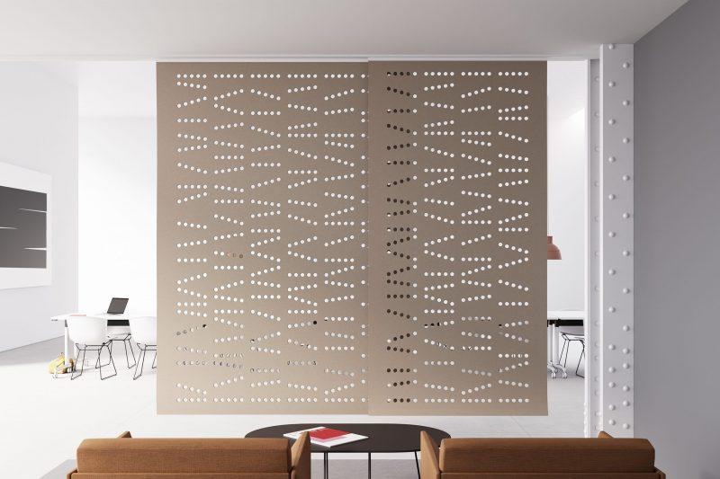 Ruimte afscheiding - Hanging panels - wolvilt - patronen - Filzfelt - ENNAIR