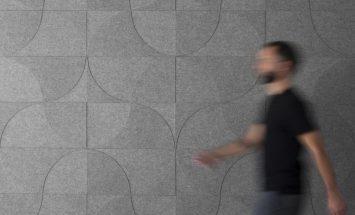 Wandbekleding - akoestiek - wolvilt - kurk - 3D - submaterial - Figure - Filzfelt - ENNAIR