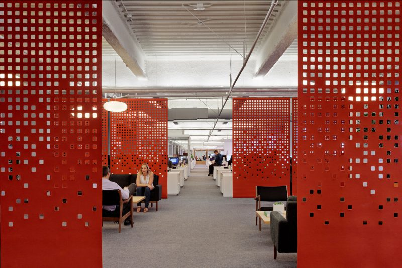 ruimte afscheiding - akoestisch - wolvilt - patronen - design - hanging panels - Filzfelt - ENNAIR