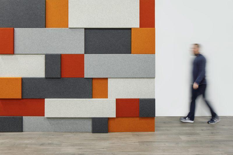 wandbekleding - akoestiek - muro - kleurenpallet - wolvilt - leder - Spinneybeck - Filzfelt - ENNAIR