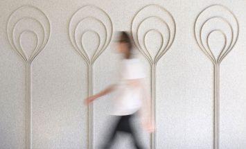 wandbekleding - design - wolvilt - akoestisch - submaterial - bulb - Filzfelt - ENNAIR